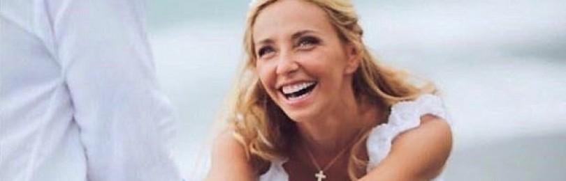 Татьяна Навка опубликовала трогательный архивный снимок с Песковым в годовщину свадьбы