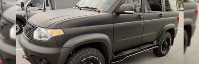УАЗ «Патриот» получил новый дизельный двигатель