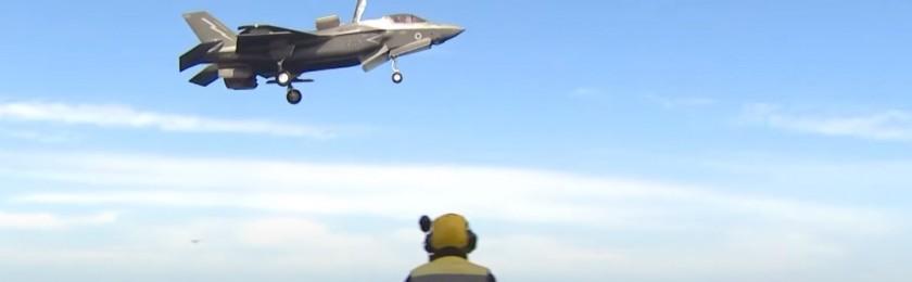 Пентагон планирует завершить цикл имитационных испытаний истребителя 5-го поколения F-35 Lightning II
