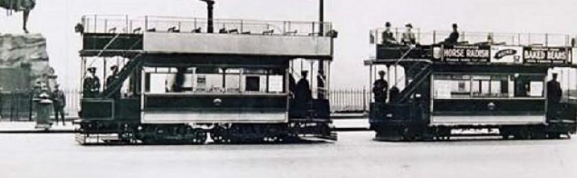 Первый трамвай в Киеве — питерская «Дымопырка»