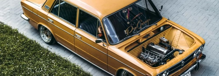 Тюнеры превратили ВАЗ-2103 в элитный автомобиль