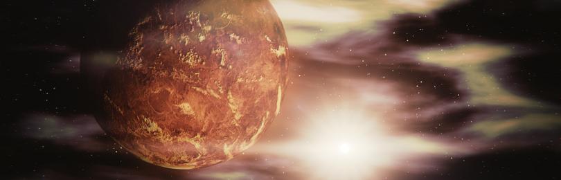 Ученые объяснили причину невозможности зарождения океанов и жизни на Венере