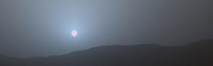 Почему на Марсе закат синий?