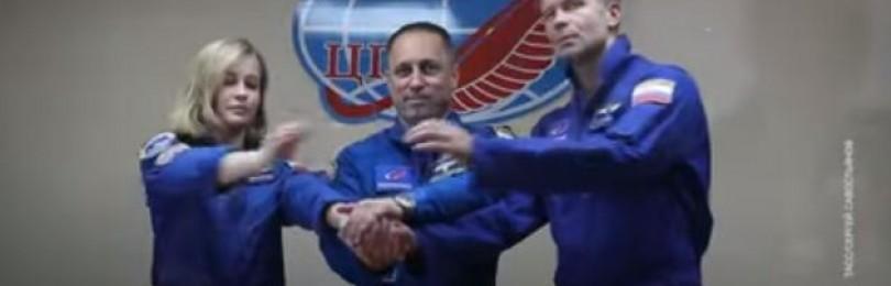У полетевшей в космос Юлии Пересильд выявили проблемы со здоровьем