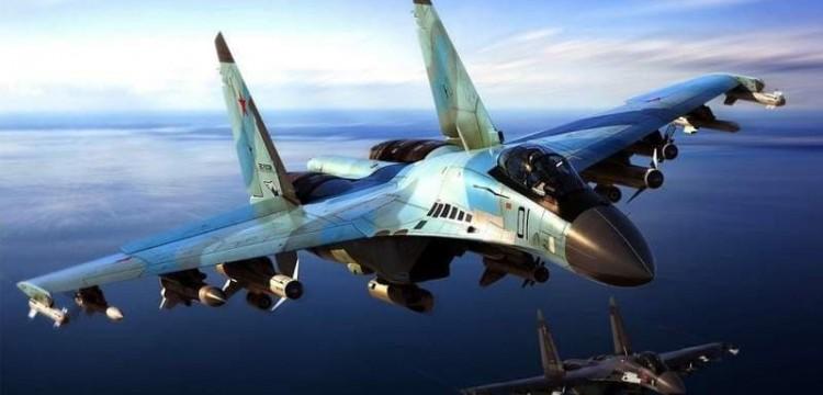 Самолет Су-35 упал в Охотское море