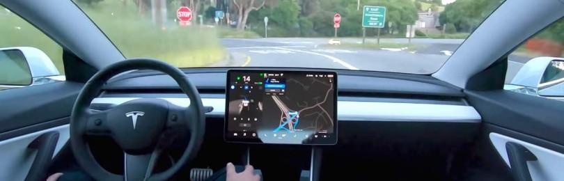 Tesla выпускает обновление FSD Beta V9.1 — еще один шаг к полной автономии