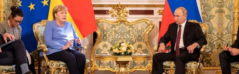 Букет Путина для Меркель раскрывает его романтичную сторону