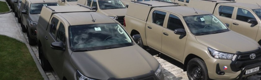 Армия Украины решила заменить российские УАЗы на Toyota