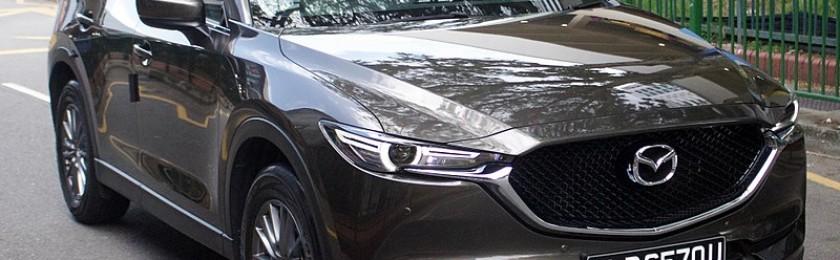 Кроссовер Mazda CX-5 вошел в августовский ТОП-25 российских бестселлеров